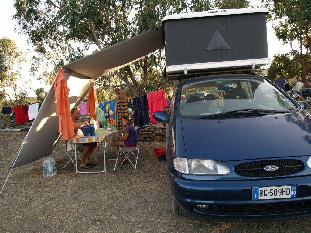 vacanze in maggiolina in campeggio