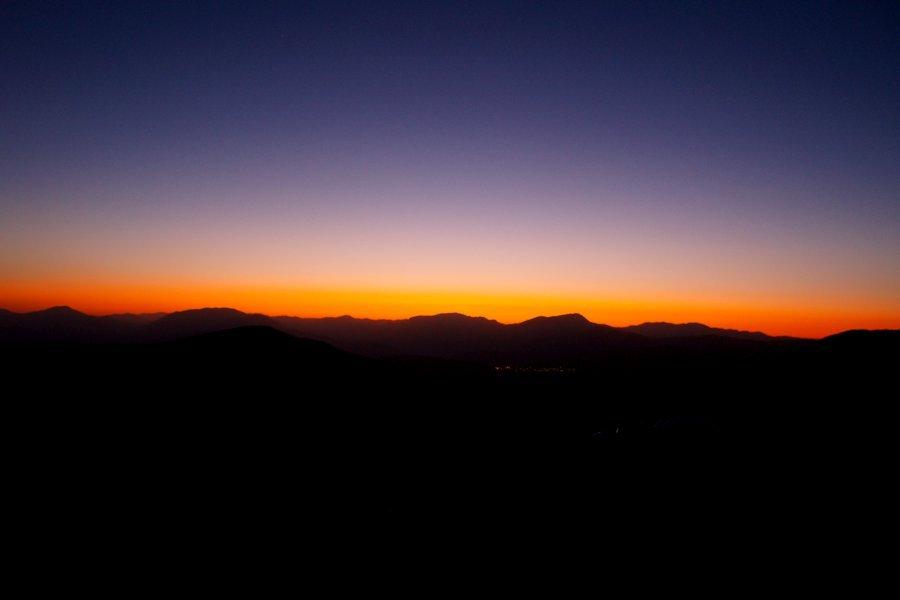 Nemrut Dagi tramonto dalla terrazza Ovest