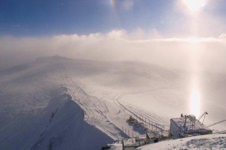 Zermatt meteo scarsa visibilità sul confine italiano