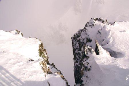 Zermatt meto picchi di roccia sul Piccolo Cervino