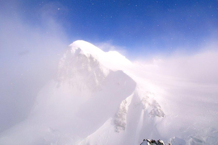 Zermatt meteo volubile vento sulla cima