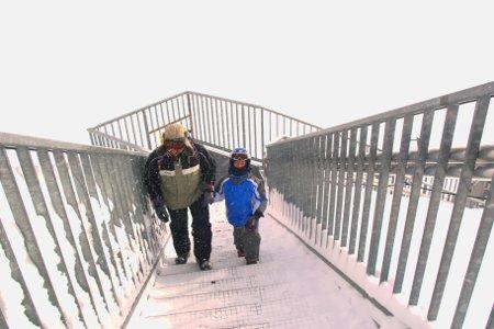 Zermatt meteo salire al Piccolo Cervino