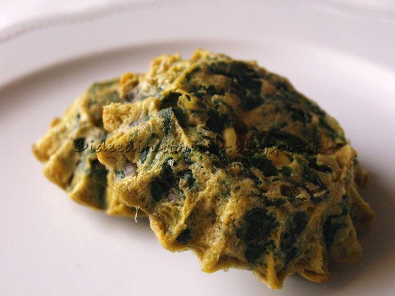 frittatine-spinaci-funghi-mais