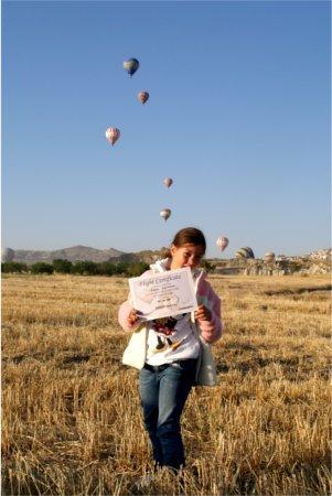 mongolfiera carlotta certificato
