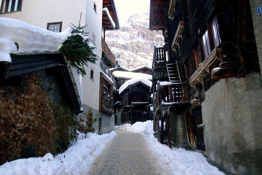Zermatt meteo centro storico