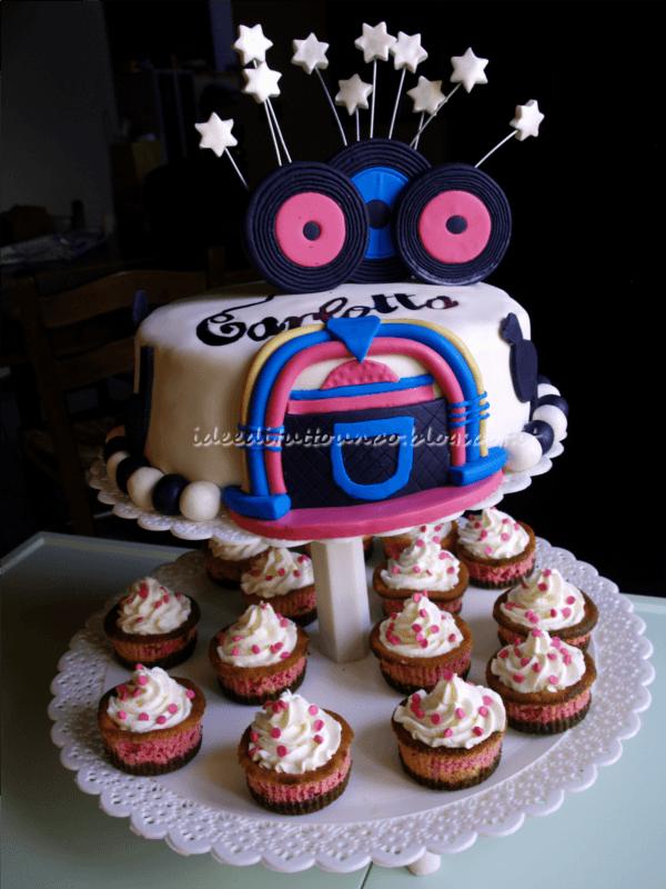 Compleanno della topo concludo con la torta idee di for Cucinare anni 50