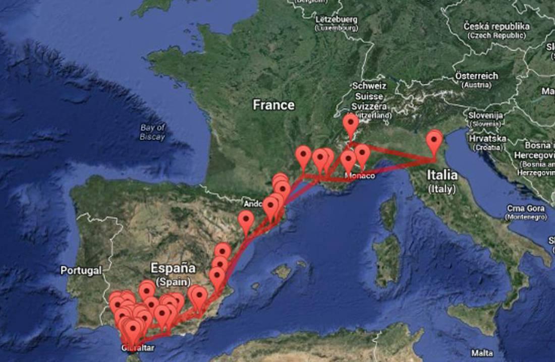 #AndalusiaOnTheRoad: il riassunto