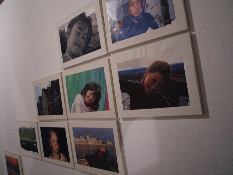 parete con tela da pittore