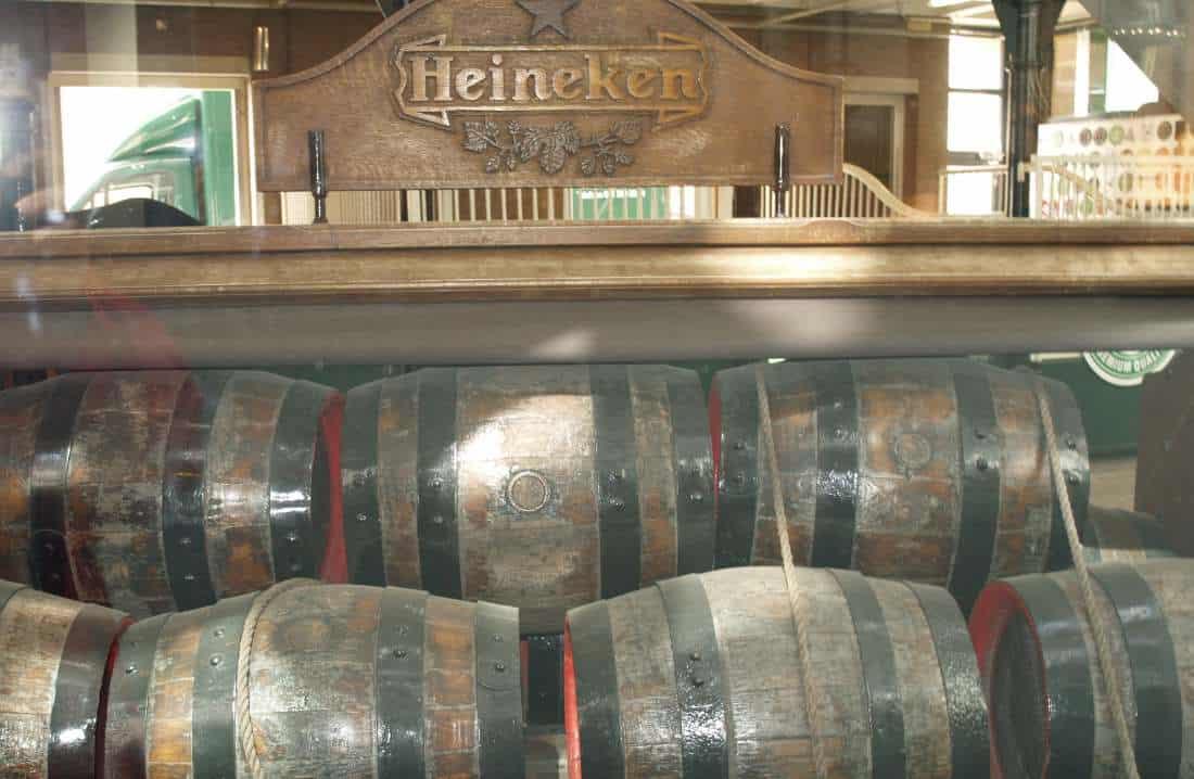 Heineken experience botti di birra
