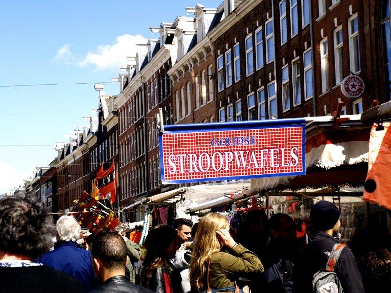 stroopwafels street food