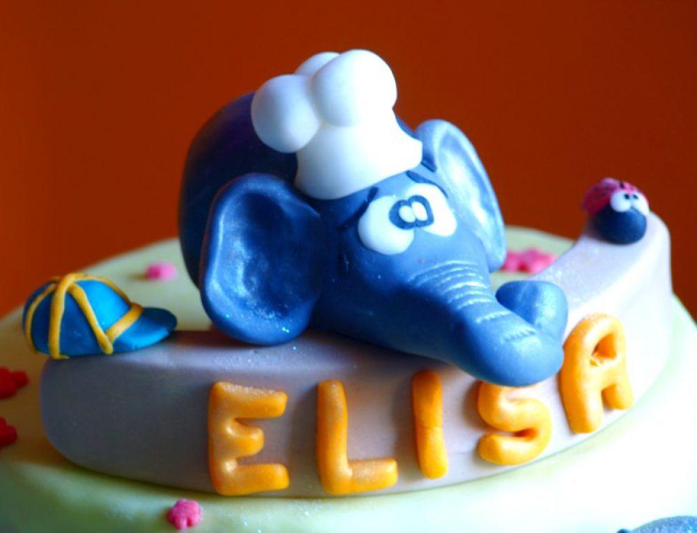 Torta Elefantino, scout e cucina