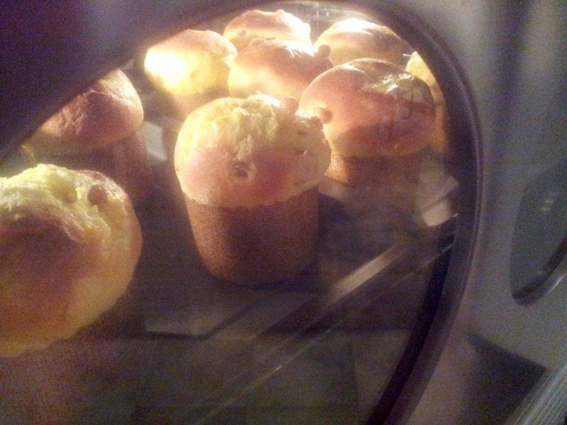 panettone in forno