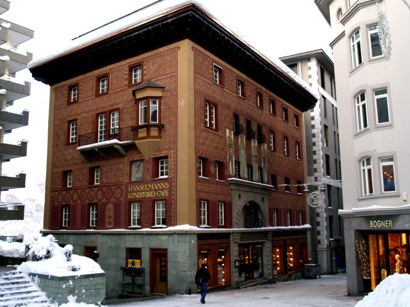 St. Moritz casa Engandinese