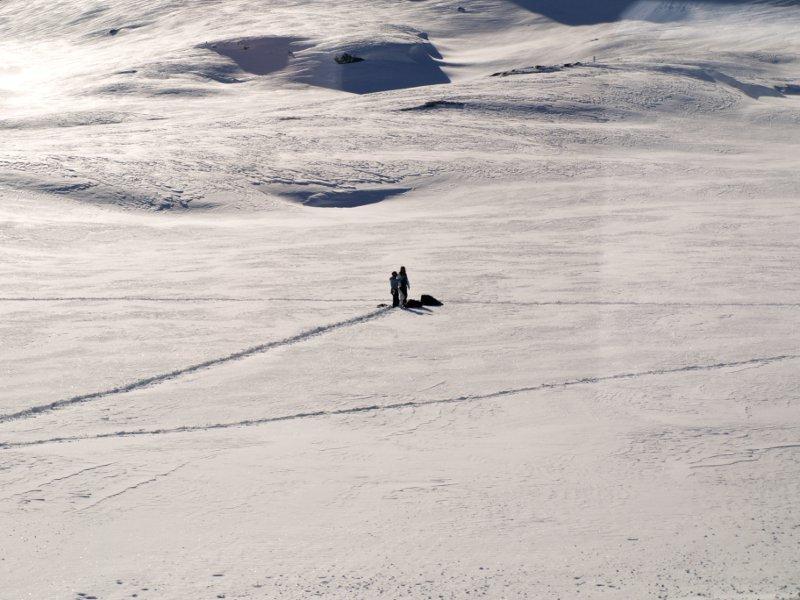 Trenino del Bernina kite-ski