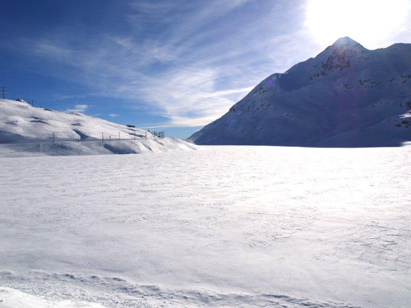 Trenino del Bernina lago bianco