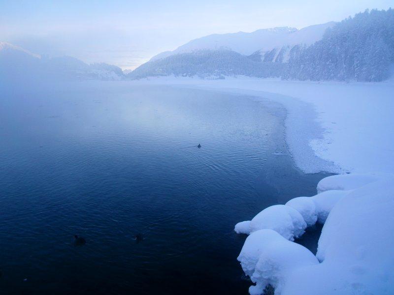 st. Moritz lago