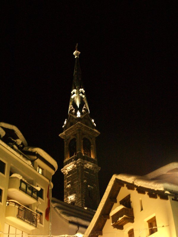 st. Moritz campanile