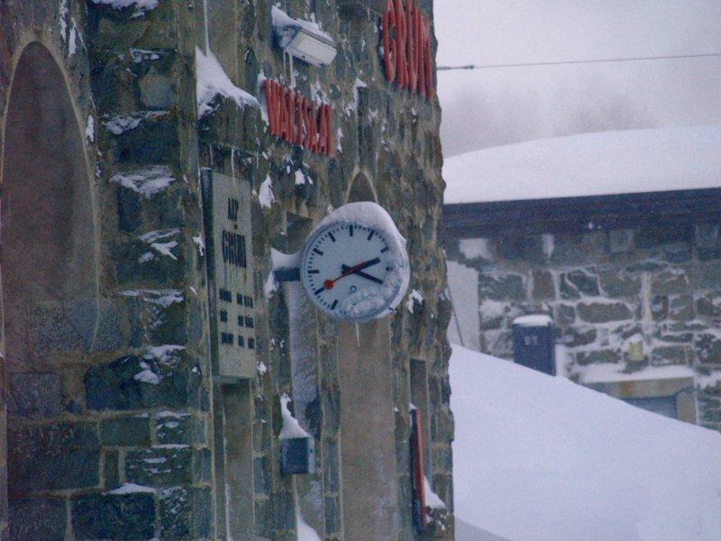 trenino orologio Alp Grum