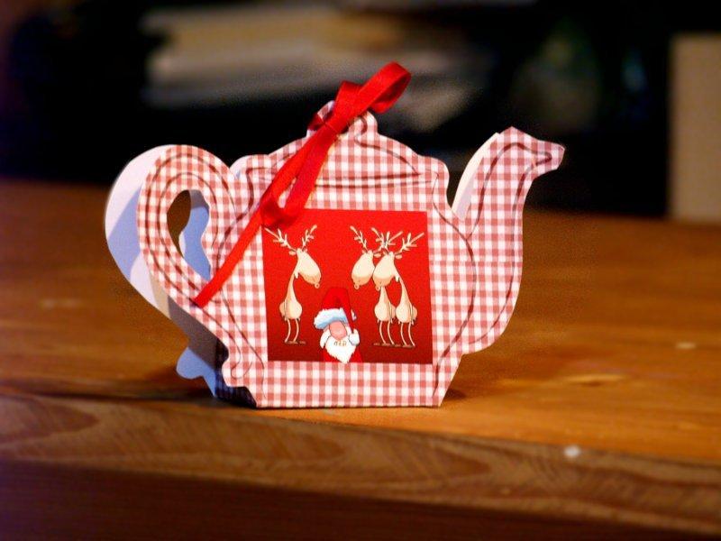 teiere con fiocco