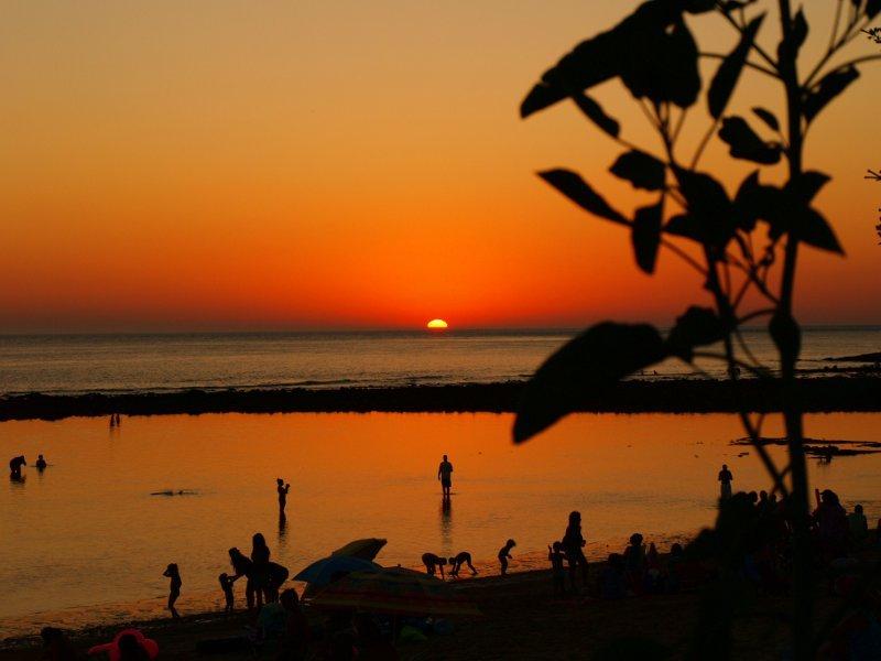 tramonto, andalusia, costa del la luz