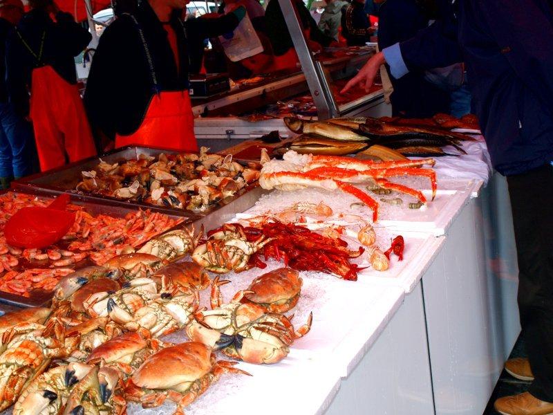 Bergen mercato del pesce