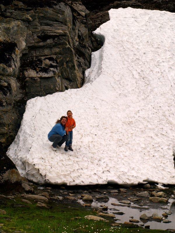 neve sul passo dei troll