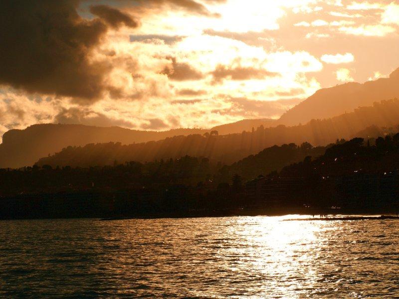 tramonto a menton
