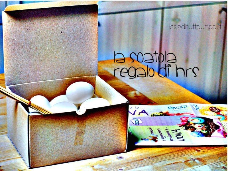scatola uova di pasqua
