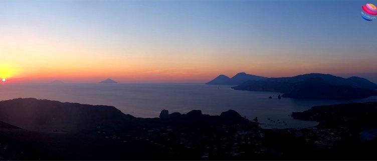 panoramica Eolie da Vulcano