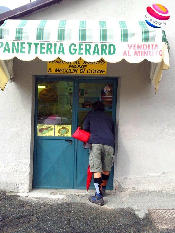 Alla panetteria Gerard si vende Mecoulin tra i prodotti tipici valdostani