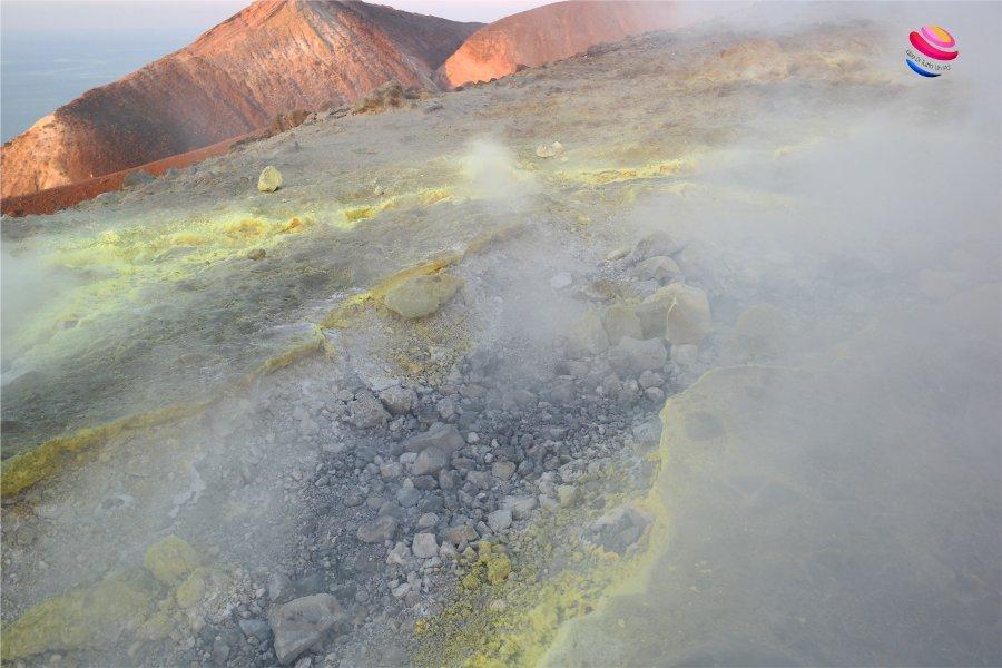 zolfo sul cratere