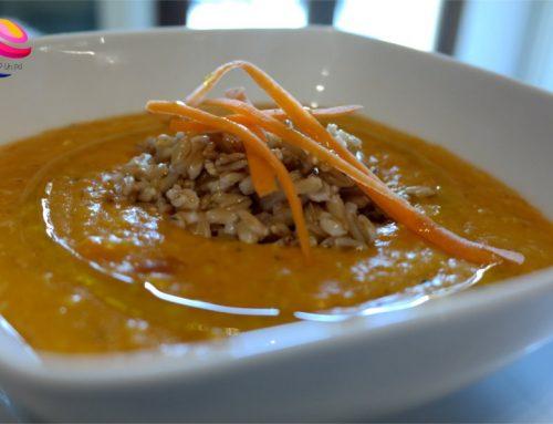 Crema di carote con avena