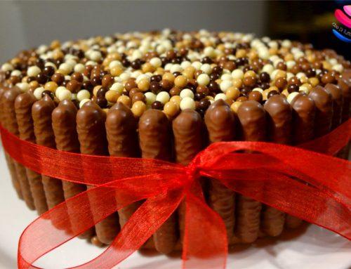 Bavarese ai 3 cioccolati