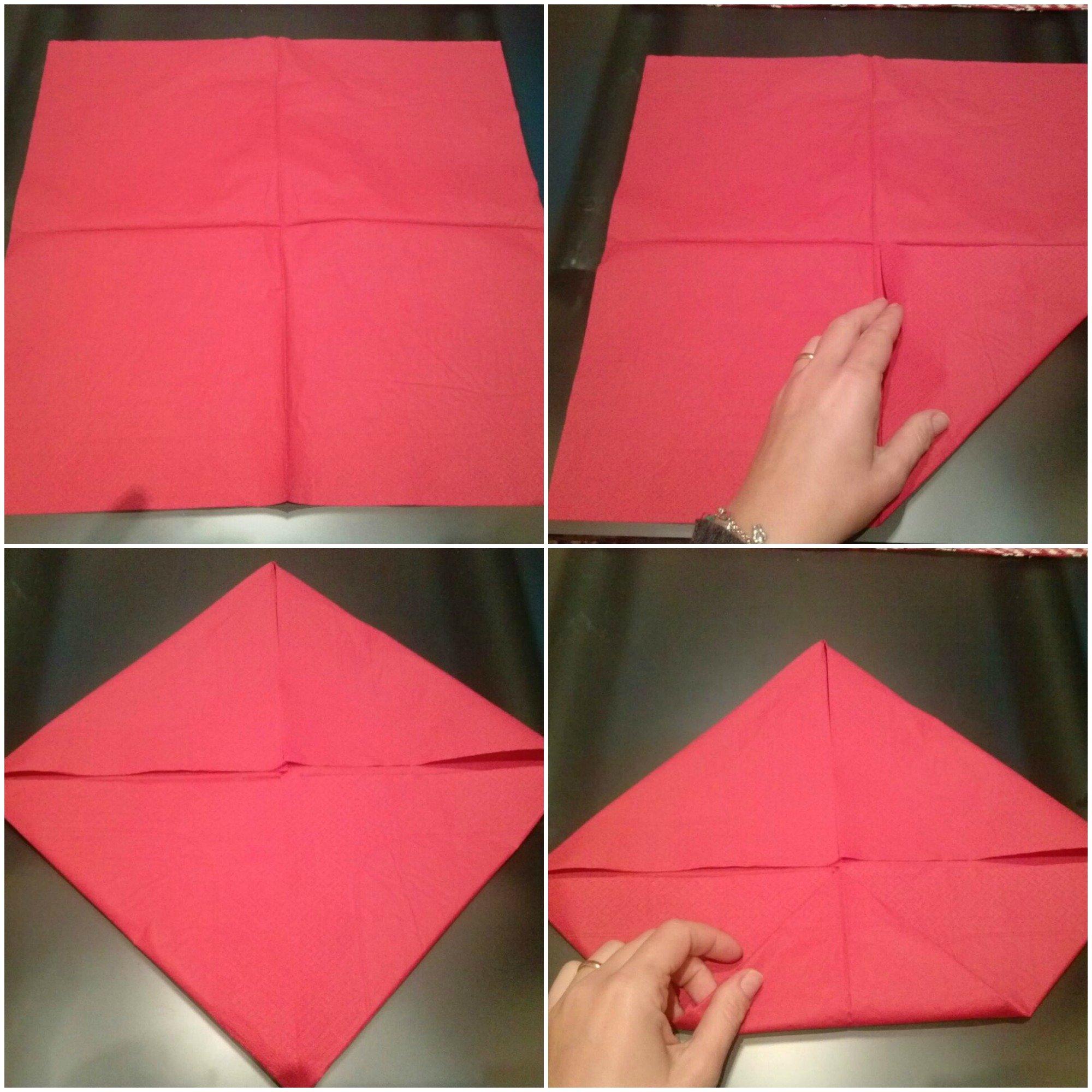 Eccezionale Origami facili: la ninfea portacandela - Idee di Tutto Un Po' WQ18