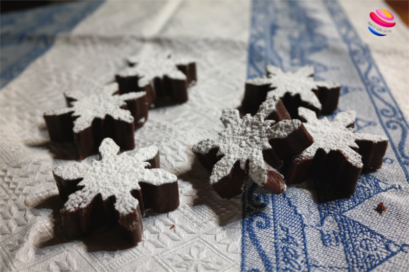 fiocchi di fudge al cioccolato