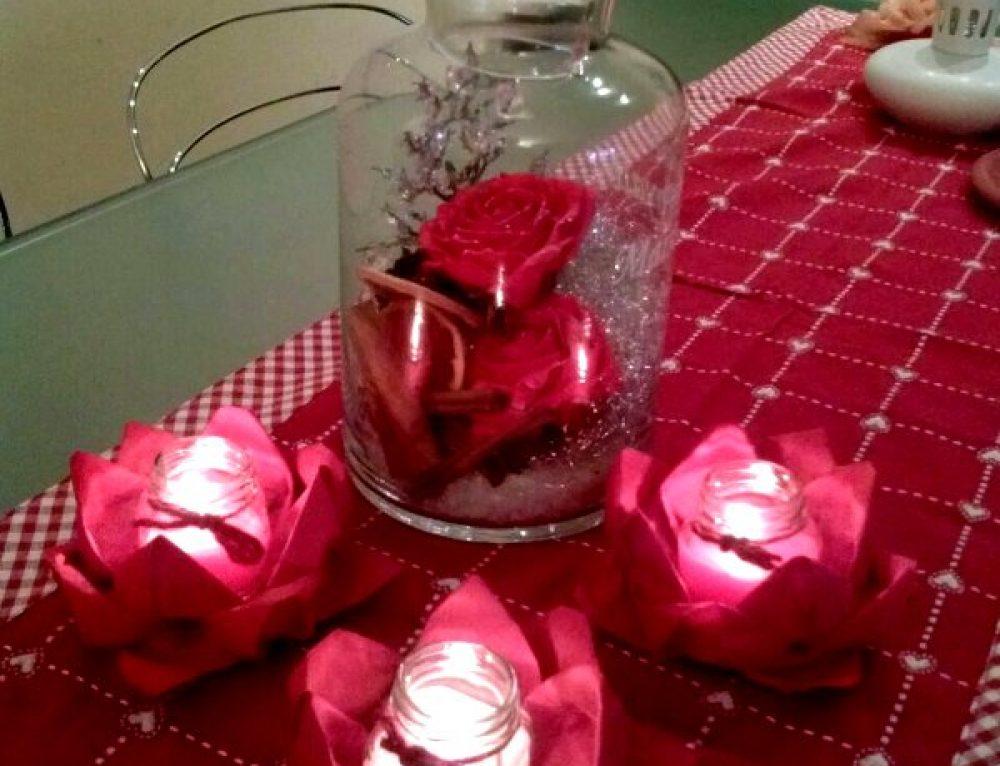 Origami: la ninfea portacandela