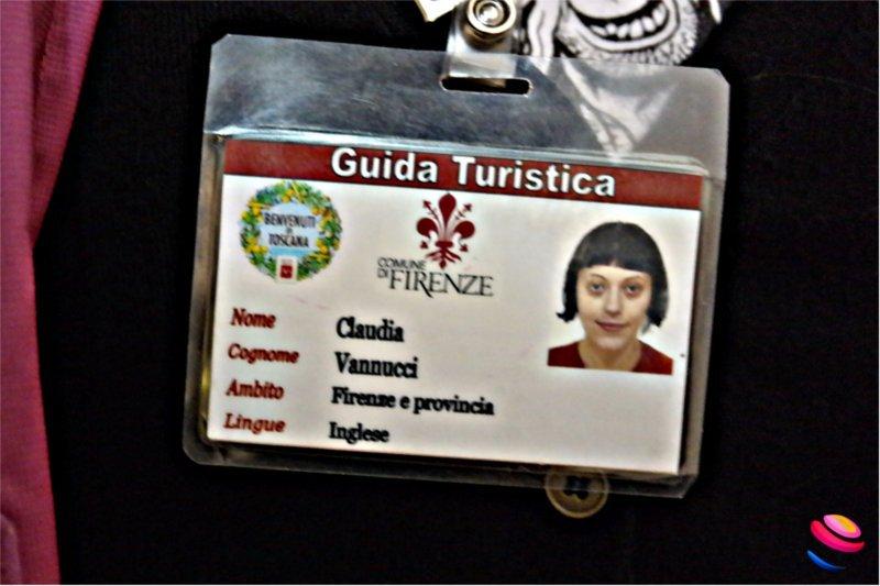 Claudia Vannucci guida di Firenze