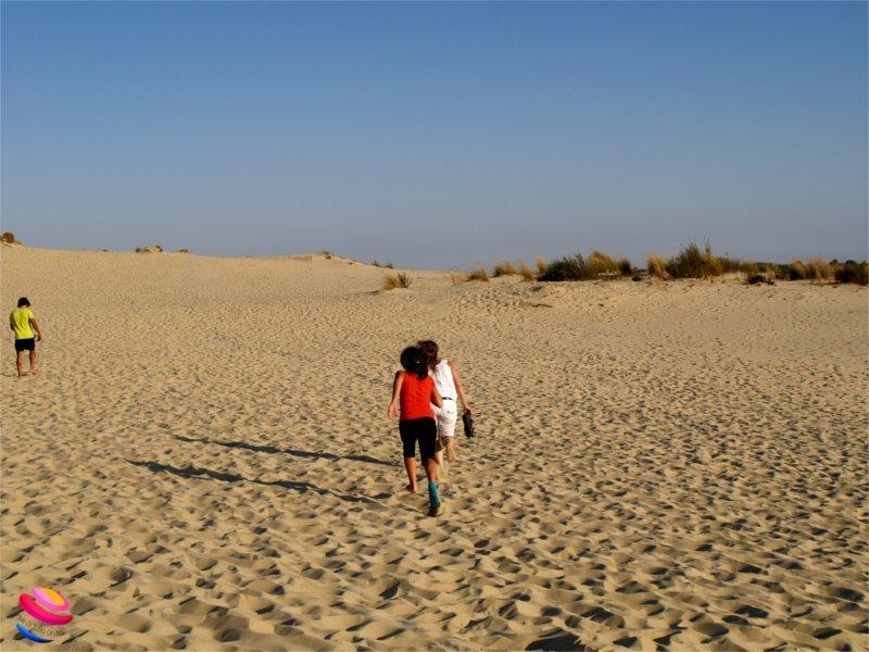 parco donana salita alla duna