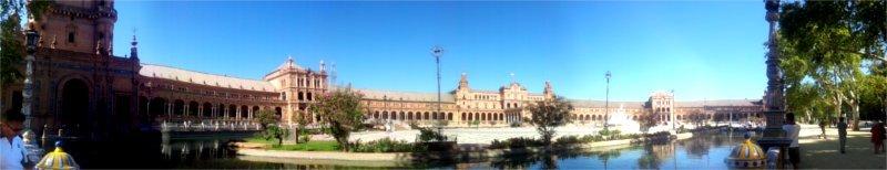 siviglia panoramica plaza de espana