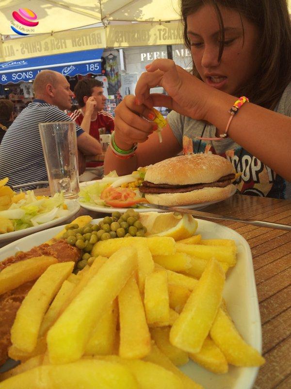 Gibilterra pranzo inglese