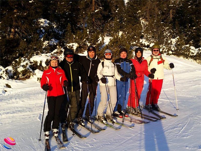 Selva di Val gardena foto di gruppo