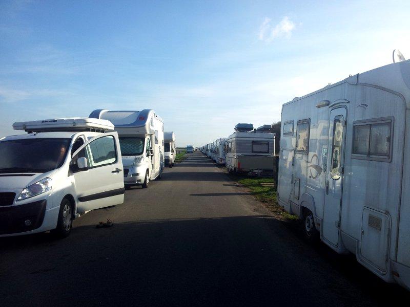 parcheggio camper keukenhof