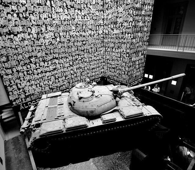 Casa del terrore budapest carrarmato