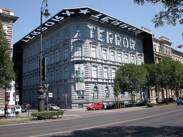 Casa del terrore budapest esterno