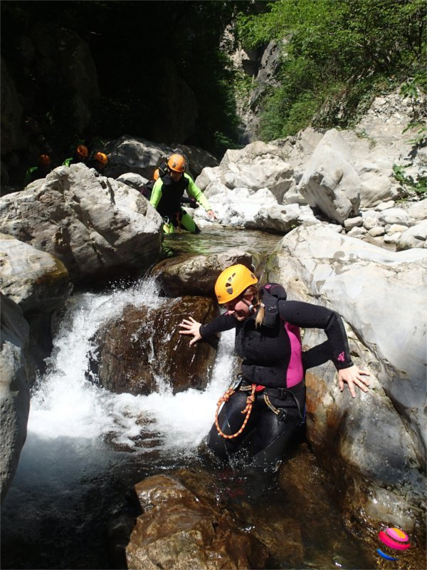 Canyoning a Tremosine