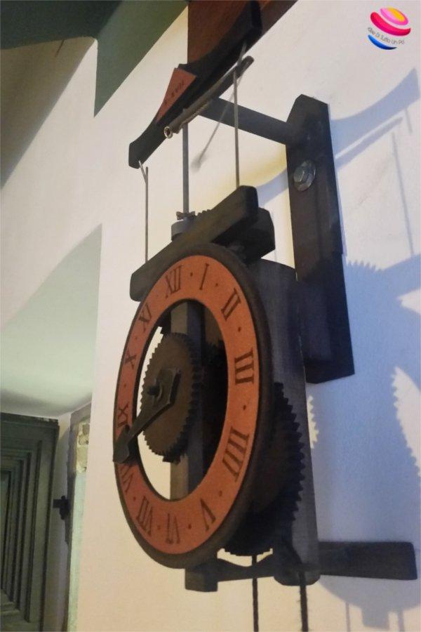 agriturismo carnia orologio Leonardo