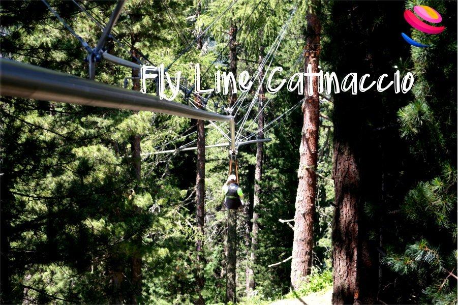 Fly line Catinaccio