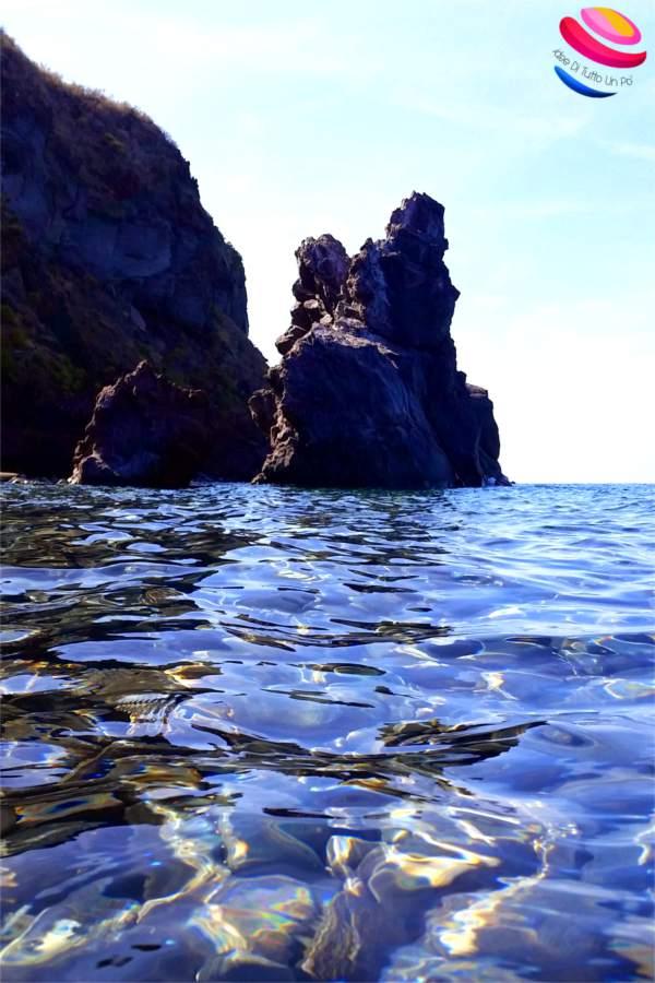 salina punta scario dal mare