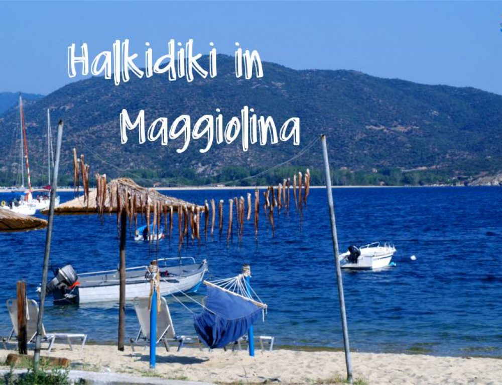 Halkidiki: Penisola Calcidica in Maggiolina