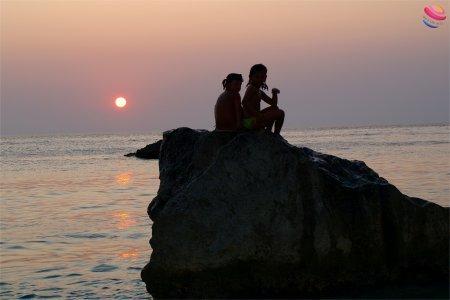 Porto katsiki Lefkada tramonto